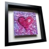 Love Purple - Framed Tile