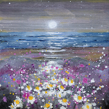 Moonlight on the Daisies