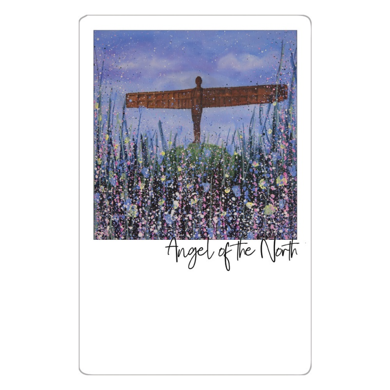 Angel of the North (Flowers) Magnet