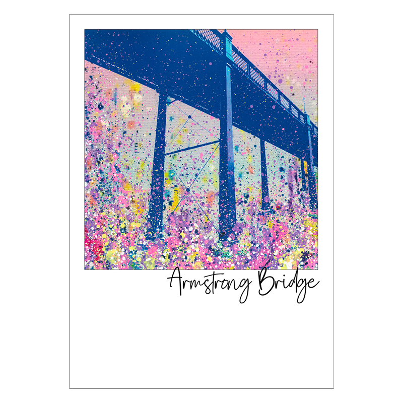 Armstrong Bridge Postcard