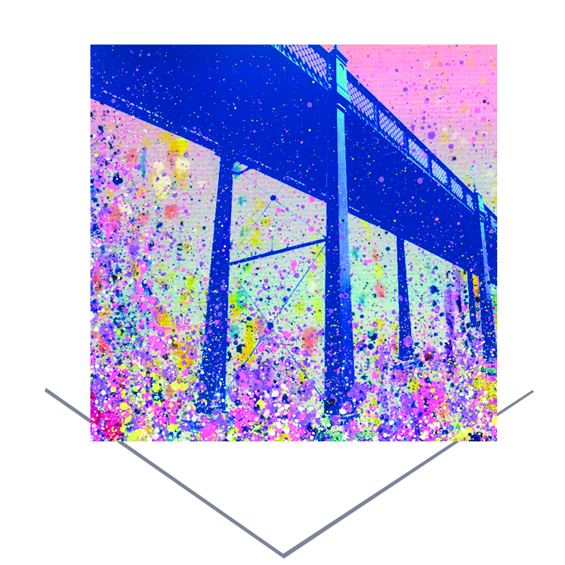 Armstrong Bridge Greeting Card