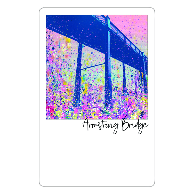 Armstrong Bridge Magnet