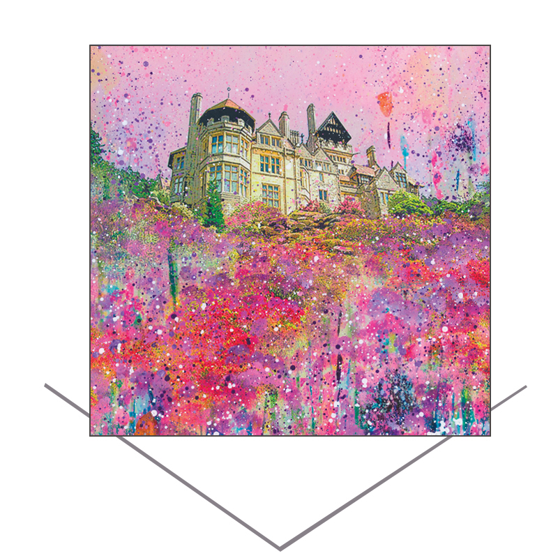 Cragside Greeting Card