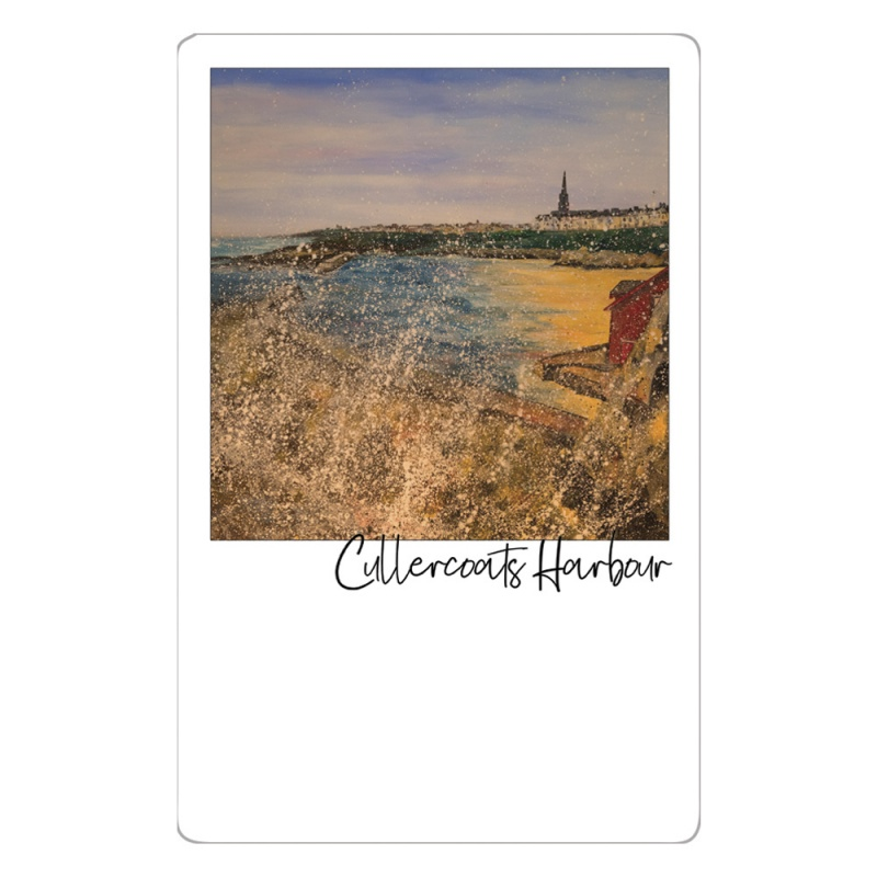 Cullercoats Harbour  Magnet
