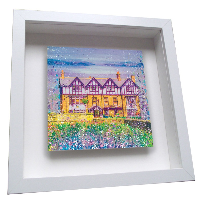 The Diamond Ponteland - Framed Tile