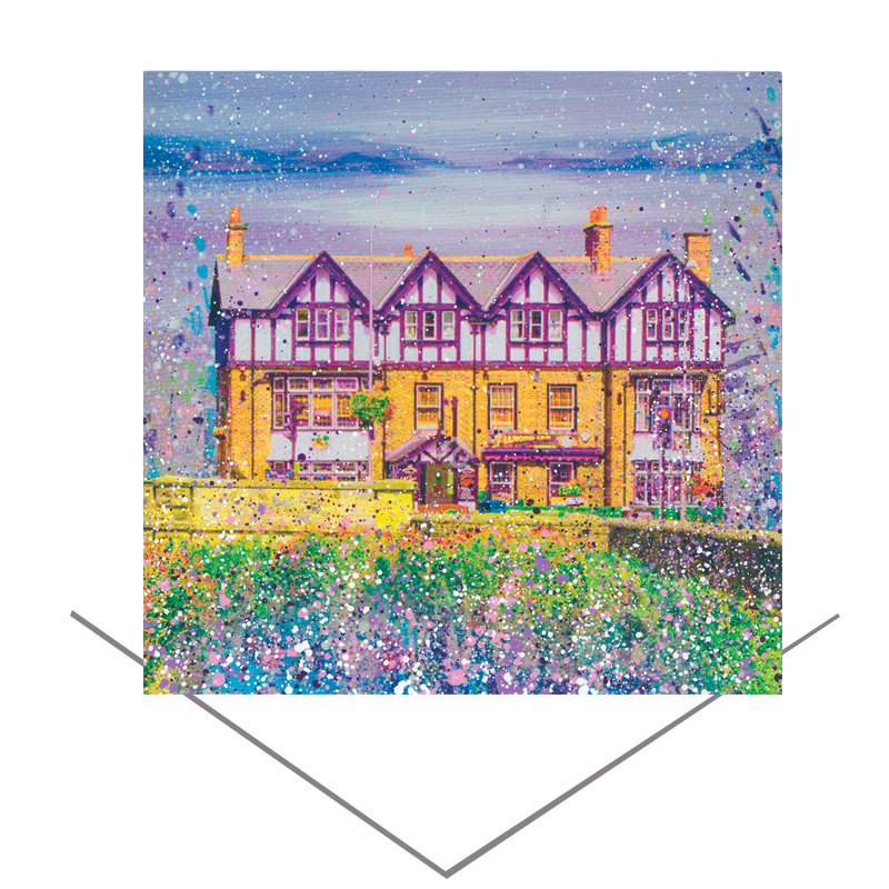 The Diamond Ponteland Greeting Card