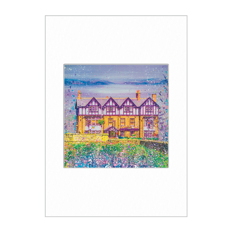 The Diamond Ponteland Mini Print A4