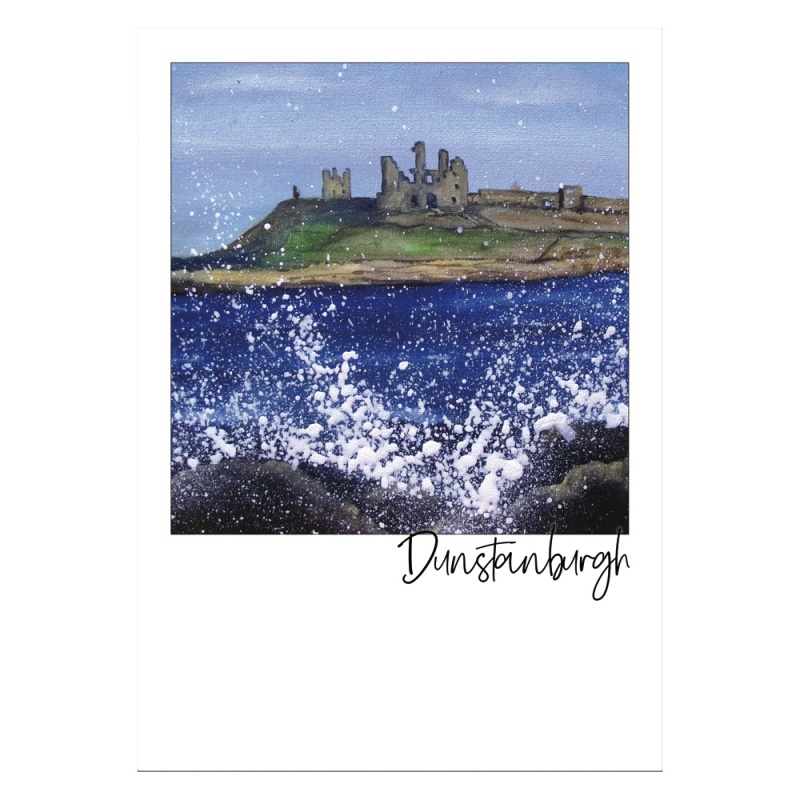 Dunstanburgh Castle Post Card