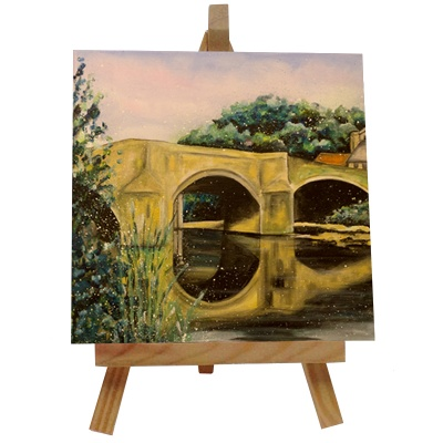 Felton Bridge Tile with Easel
