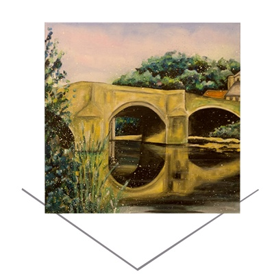 Felton Bridge Greeting Card