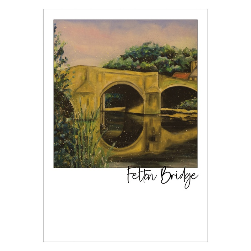 Felton Bridge Post Card