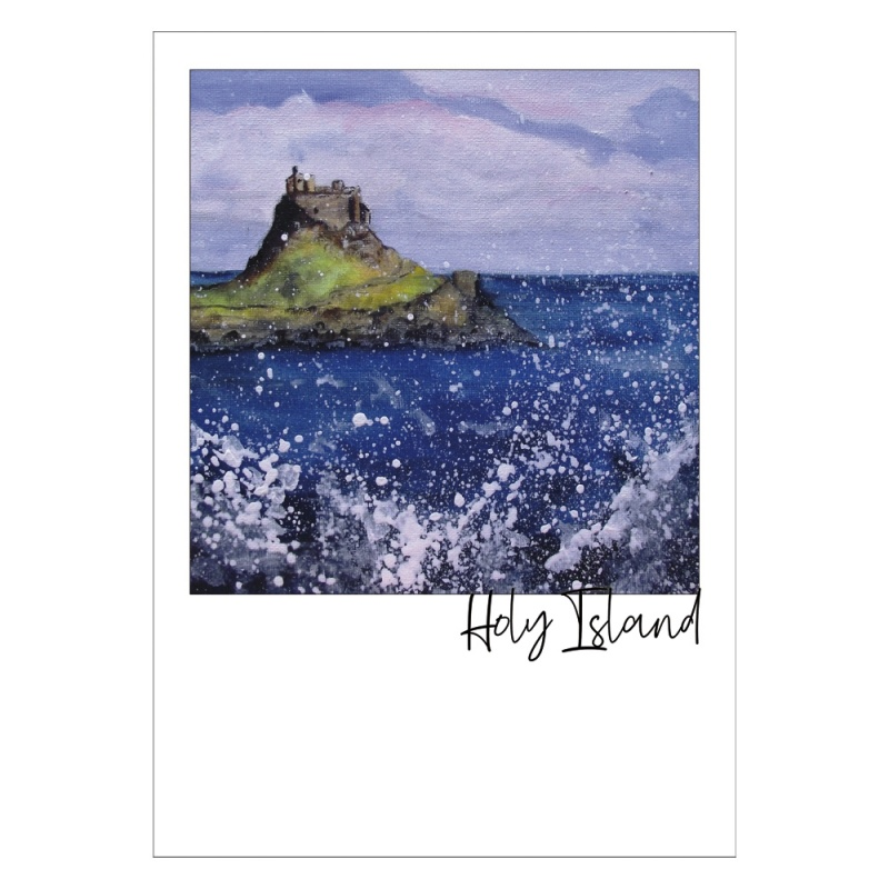 Holy Island Post Card