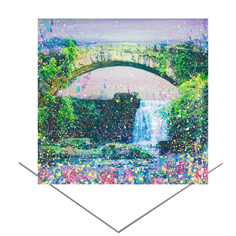 Jesmond Dene Greeting Card