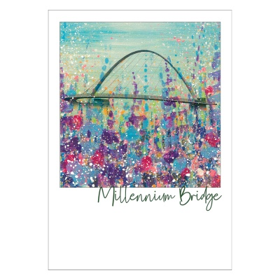 Millennium Bridge Post Card