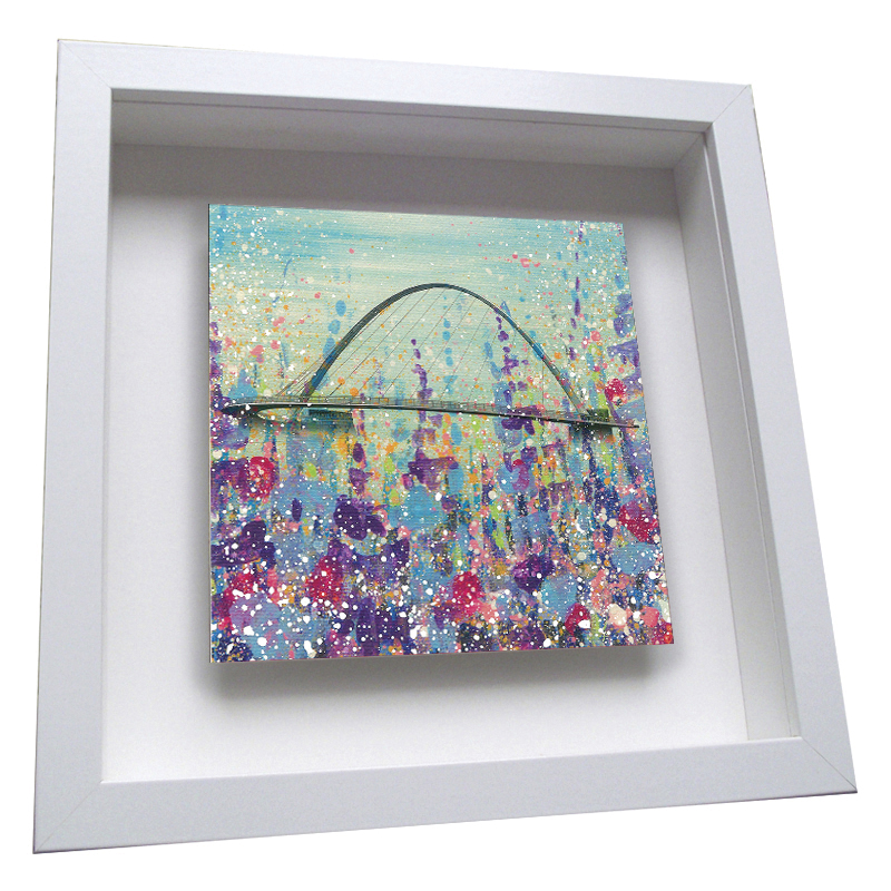Millennium Bridge - Framed Tile