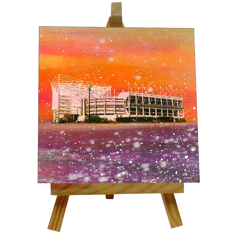 St James' Park Tile with Easel