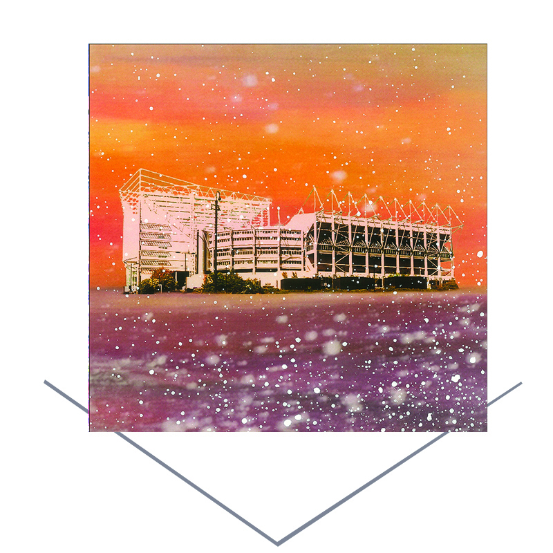 St James' Park Greetings Card
