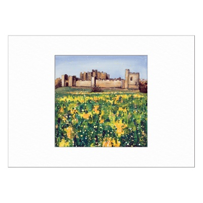 Alnwick Castle Limited Edition Print 40x50cm