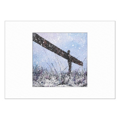Angel of the North Limited Edition Print 40x50cm