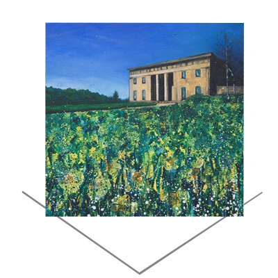 Belsay Hall Greeting Card
