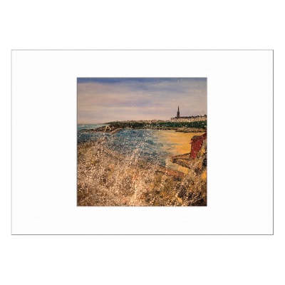 Cullercoats Limited Edition Print 40x50cm