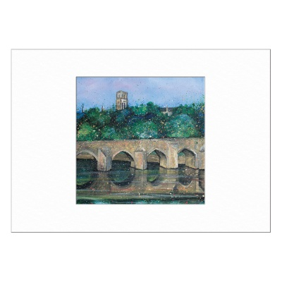 Elvet Bridge Limited Edition Print 40x50cm