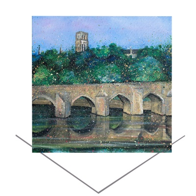 Elvet Bridge Greeting Card