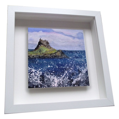 Holy Island - Framed Tile
