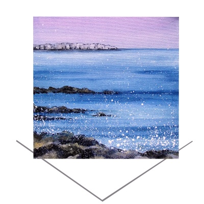 Farne Island Greeting Card