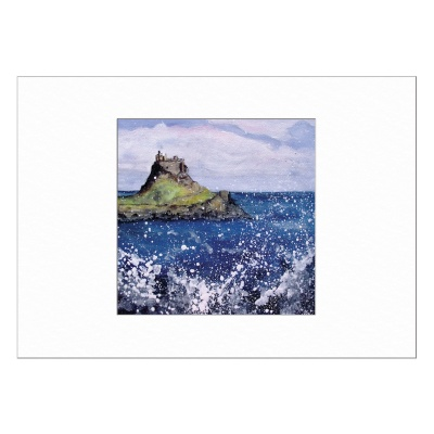 Holy Island Limited Edition Print 40x50cm