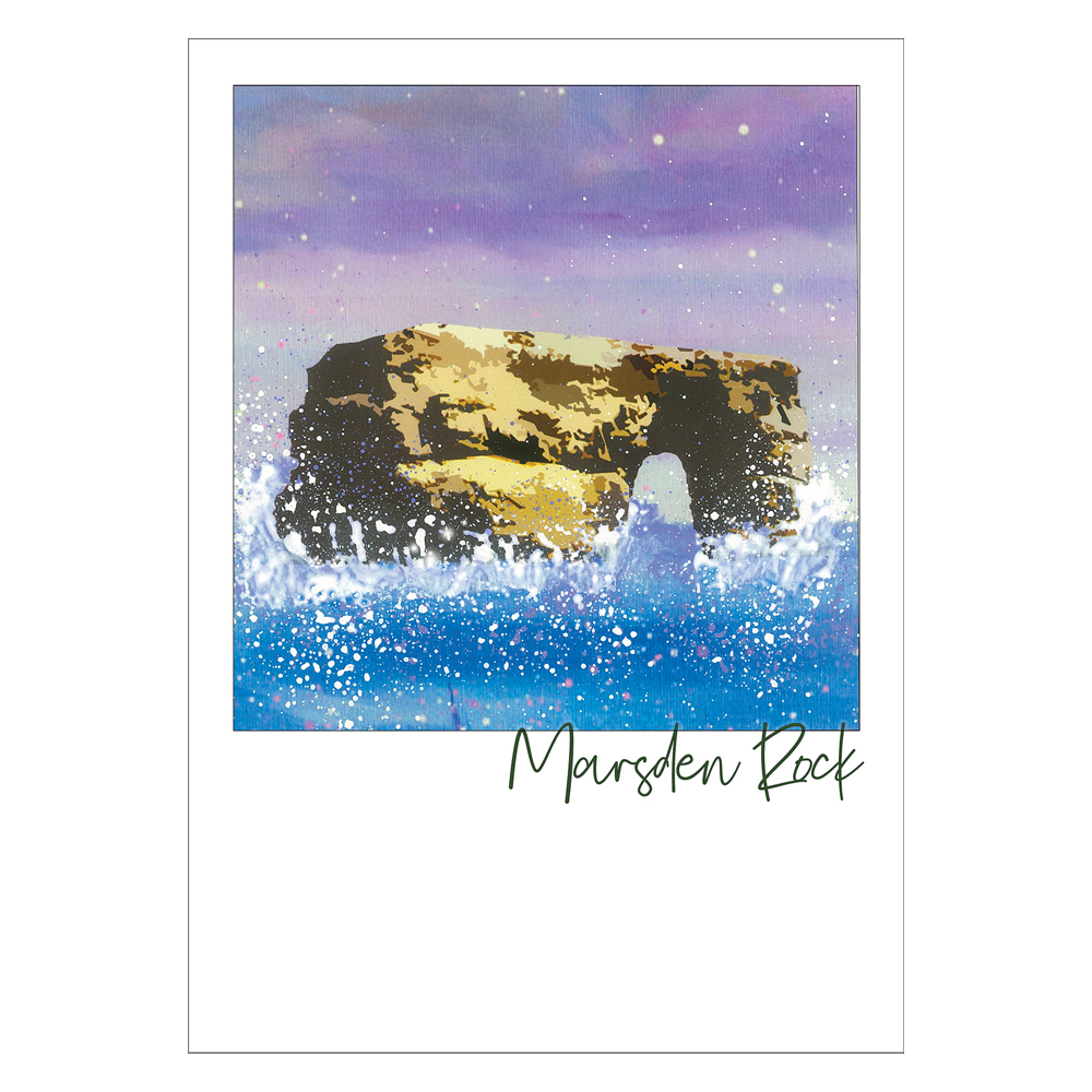 Marsden Rock Post Card