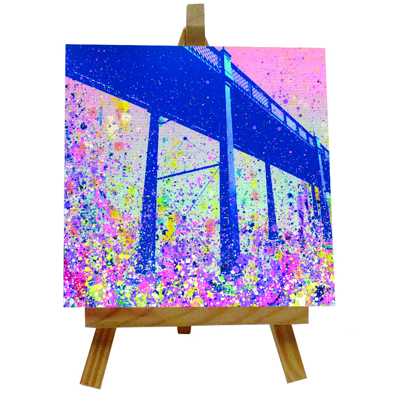 Armstrong Bridge Tile with Easel