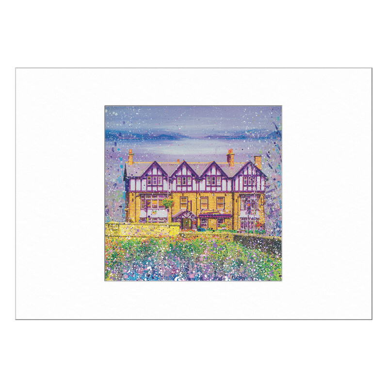 The Diamond Ponteland Limited Edition Print 40x50cm