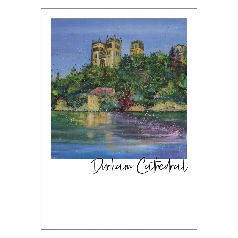 Durham Cathedral  Postcard