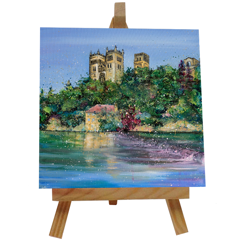 Durham Cathedral Tile with Easel