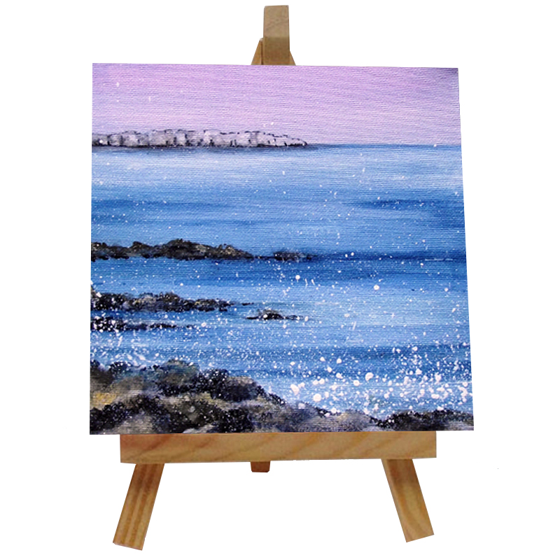 Farne Island Tile with Easel