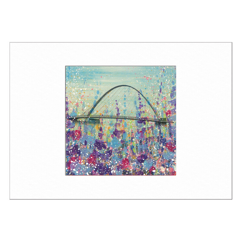 Millennium Bridge  Limited Edition Print 40x50cm