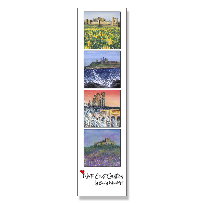 North East Castles  Book Mark