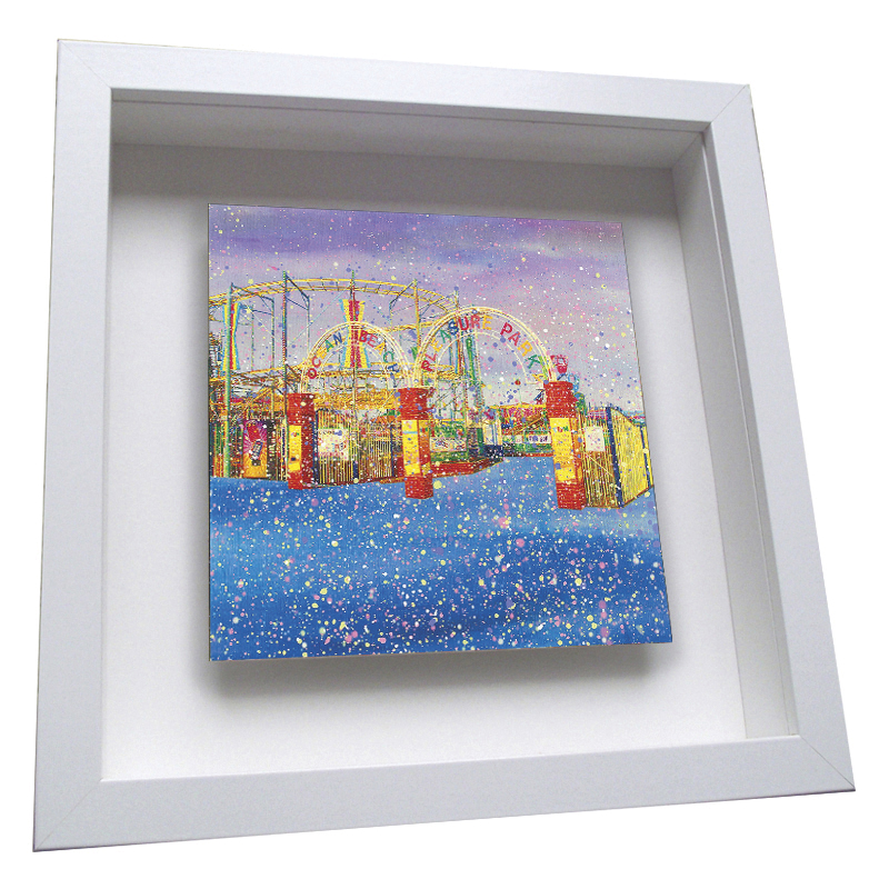 Ocean Park - Framed Tile