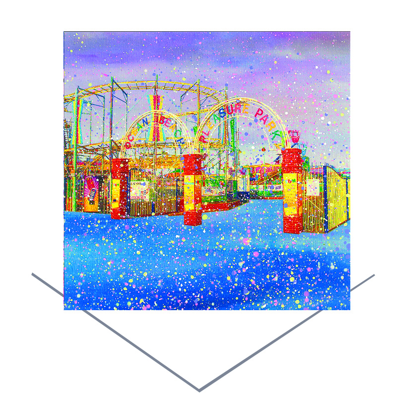 Ocean Park Greeting Card