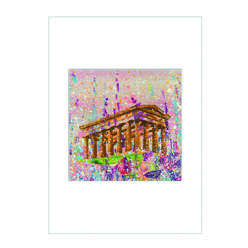 Penshaw Monument   Mini Print A4