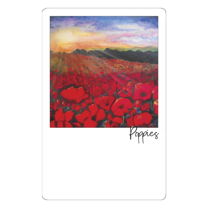 Poppies Magnet