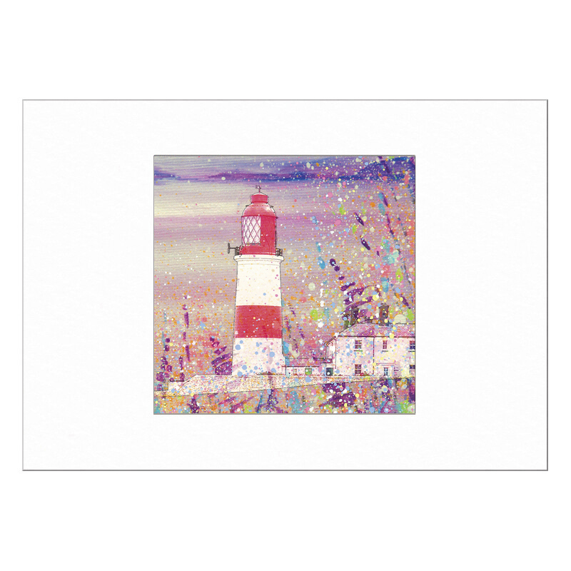 Souter Lighthouse Limited Edition Print 40x50cm