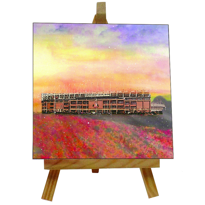 Stadium of Light Tile with Easel