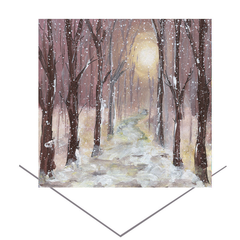 Winter Wonderland  Greetings Card