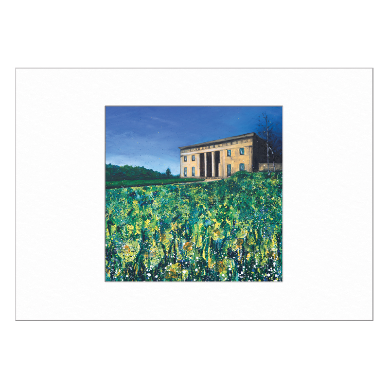 Belsay Hall Limited Edition Print 40x50cm