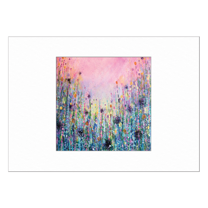 Flower Meadow Limited Edition Print 40x50cm