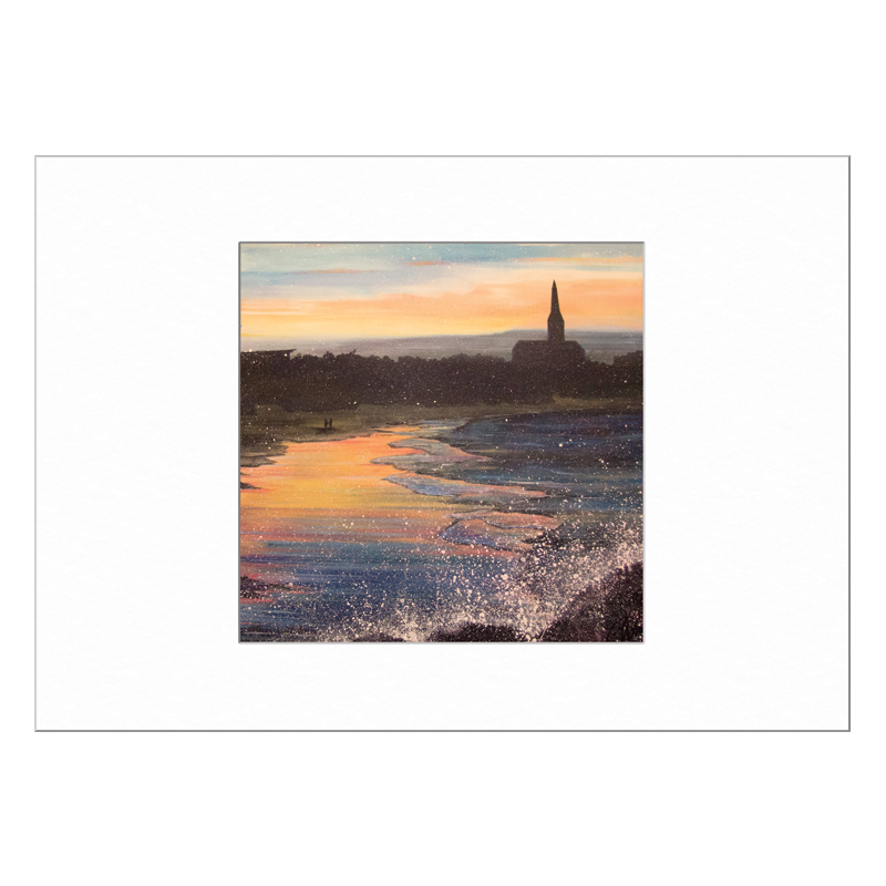 Longsands Tynemouth Limited Edition Print 40x50cm