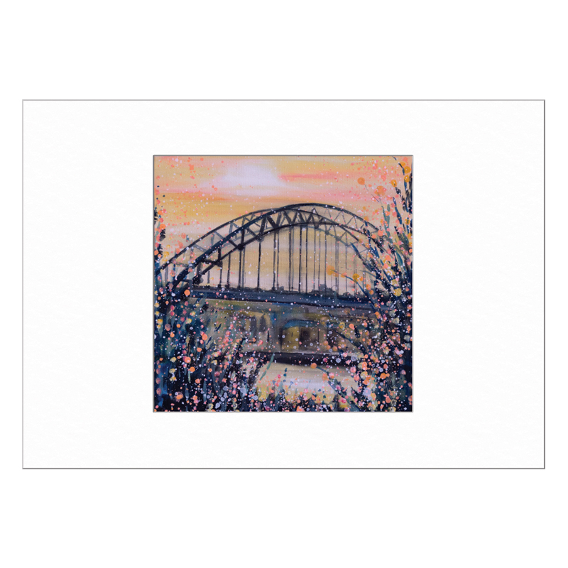 Tyne Bridge Limited Edition Print 40x50cm