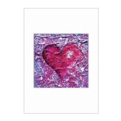 Love Purple Mini Print A4